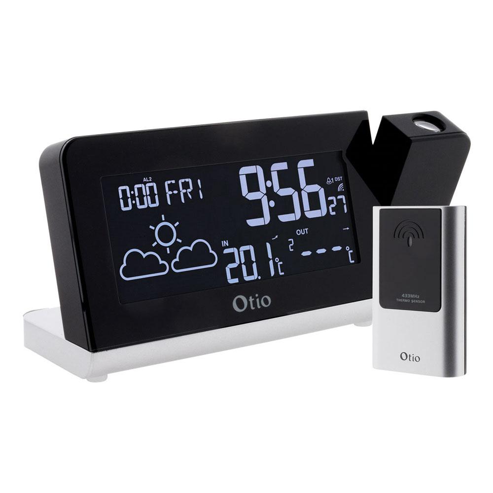 station m t o monalisa projection avec capteur externe sans fil otio ebay. Black Bedroom Furniture Sets. Home Design Ideas